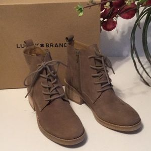 Lucky Brand Tamela Boots Brindle 6.5 M